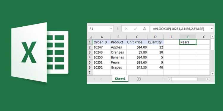 Excel yang Dapat Digunakan sebagai Alternatif VLOOKUP